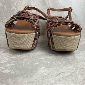 Lucky Brand Shoes - Lucky Brand size 7.5 Wedge Platform Heel Sandals
